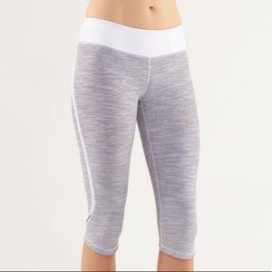 Lululemon Run: Fast & Free Crop Wee Are From Space